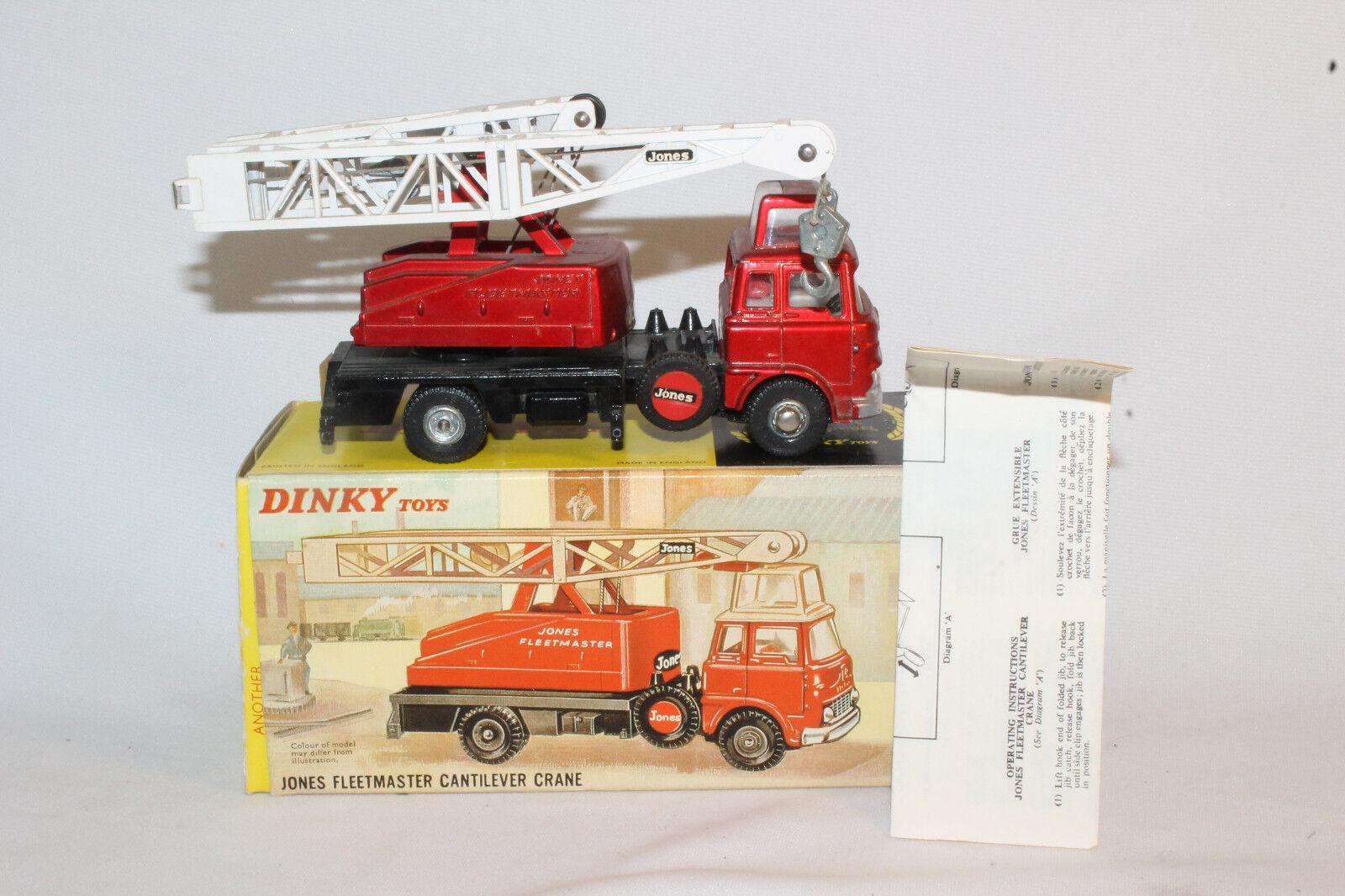 1960's Dinky  970 Jones Fleetmaster Cantilever Crane, Nice Boxed