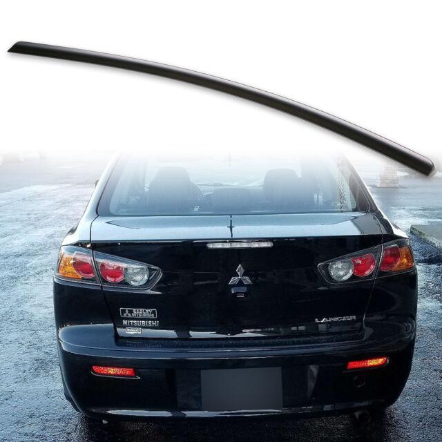 Painted Black Trunk Lip Spoiler R For Mitsubishi Lancer CY Sedan 07-17 Gen 9