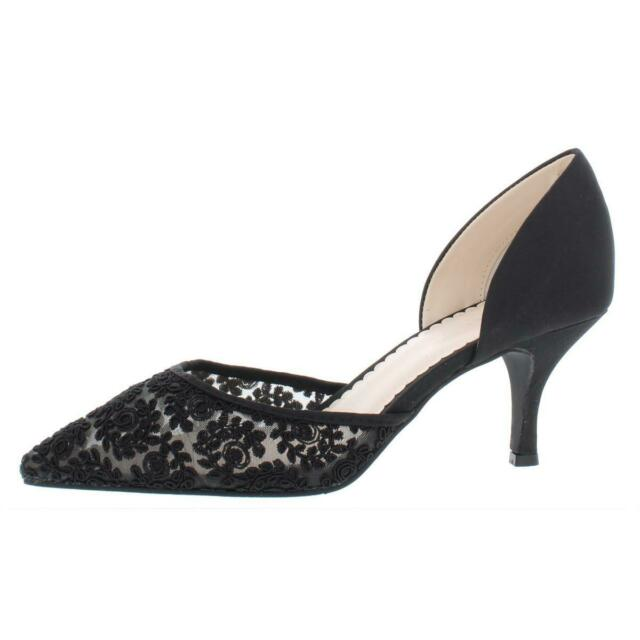Charter Club Womens Nanee Lace Pumps Pointed Toe Dress Heels Shoes BHFO 8911