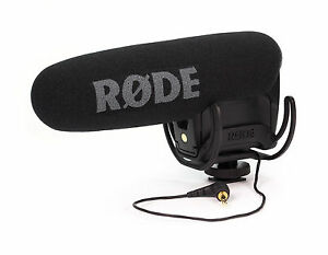 Rode-VideoMic-Pro-with-Rycote-Lyre-Shockmount-NEW-Open-Box