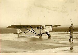 """""""Atterrissage de HINCKLER au BOURGET 1931"""" Photo originale G. DEVRED (Agce ROL) TqSEza1W-07203738-232240306"""