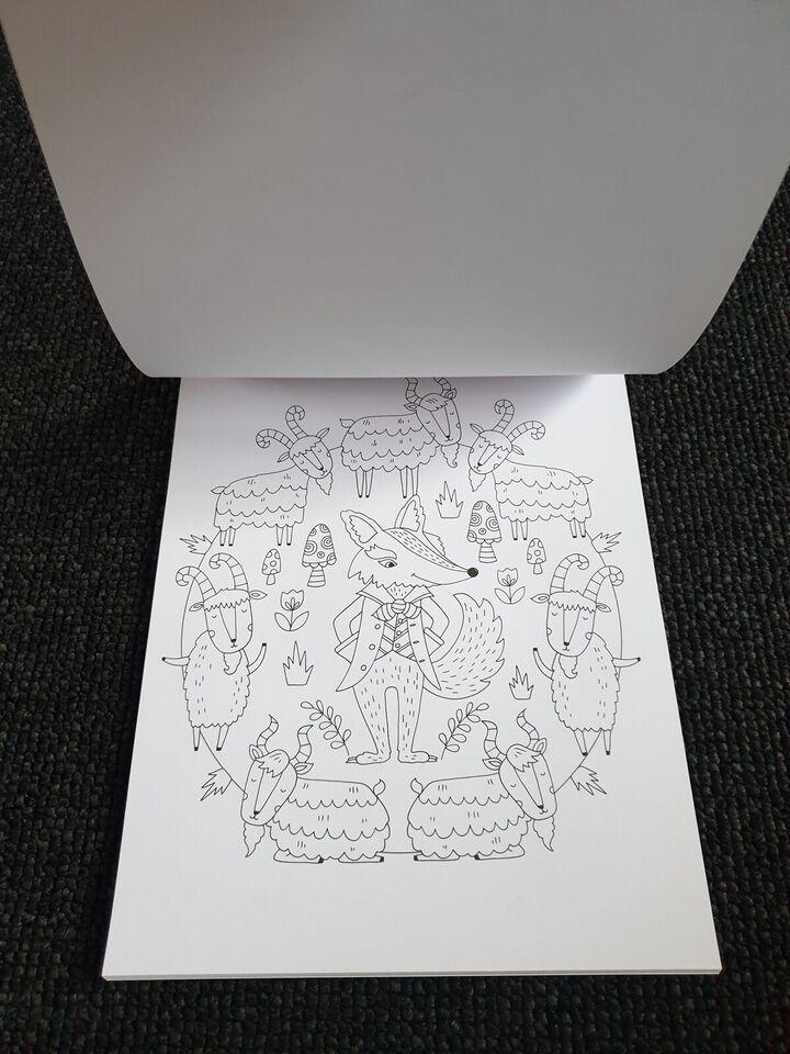 Tegne/male, Malebog, Mandala-sjov