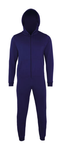 Comfy Co Kids Hood Zip Up All In One CC001J Boys Girls Jumpsuit