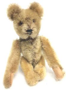 Vintage STEIFF Toy Mini Teddy Bear Wind Up Mechanical Somersault Acrobatic