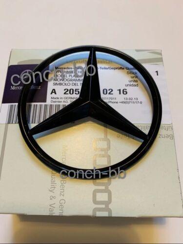 Mercedes C Class /& C63 W205 ESTATE 15-19 Rear Boot Star Badge Emblem Gloss Black