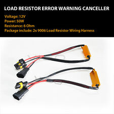 9006 9005 9012 LED Headlight Canbus Error Free Anti Flicker Resistor Canceller