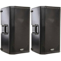 "QSC K12 12"" Powered 2-Way PA DJ Speaker 1000-Watt Pair"