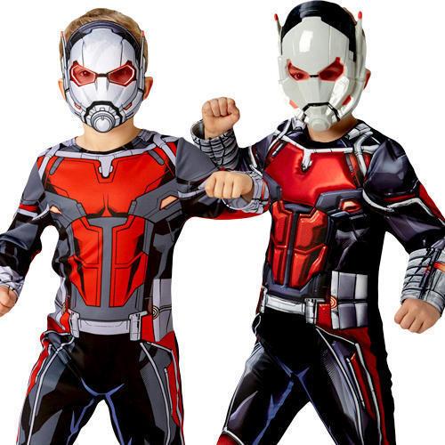 Ant-Man Boys Fancy Dress Comic Book Day Superhero Marvel Kids Childs Costume New