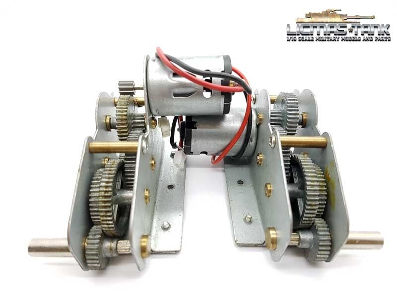 Servo Motor Motor Motor Metal Transmission Motors for Heng Long Tank 1 16 Sherman 3898 4312f5