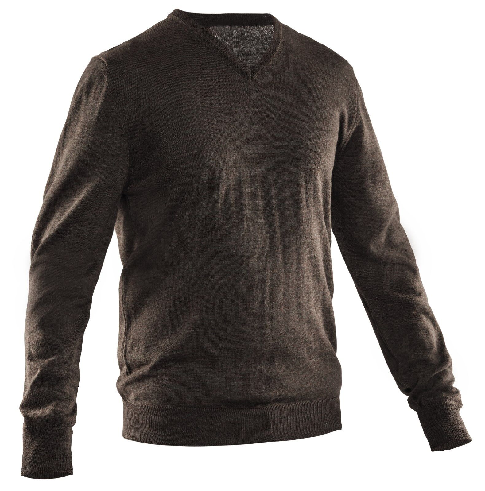 SwedTeam Wool Sweater Pond - Brown