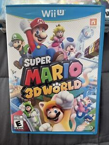 Super Mario 3D World Wii U - Nintendo 2013 - Complete - Works Great