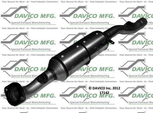 Catalytic Converter-Exact-fit Rear Davico Exc CA 17142