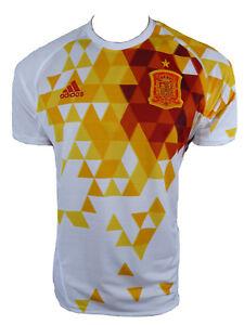 Adidas-Espana-Jersey-de-Hombre-2016-Jersey-Fuera-Talla-XL