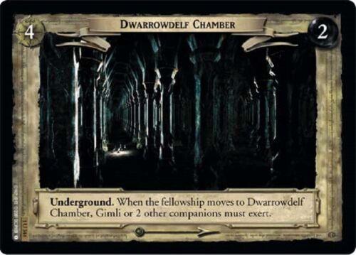LOTR TCG Dwarrowdelf Chamber 1U344 Fellowship of the Ring FOTR NEAR MINT FOIL