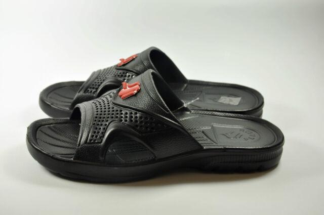 New men Bath Casual Beach Slippers Sandal Summer Bathroom Shower Shoes UK SIZE