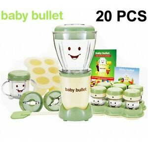 Magic Baby Bullet Food Processor Blender System As Seen On