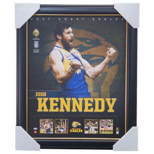 Josh-Kennedy-West-Coast-Eagles-Football-Club-Official-Licensed-AFL-Print-Framed
