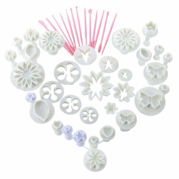 Unique Cake Decorating Icing Plunger Tools Fondant DIY Sugarcraft Mold Mould Hot