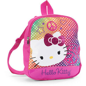 586556b122d4 hello kitty pink small backpack bag purse cute girls teens young ...