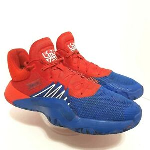 Adidas Mens D.O.N. Issue #1 Spiderman Alpha Bounce Sneaker Shoes ...