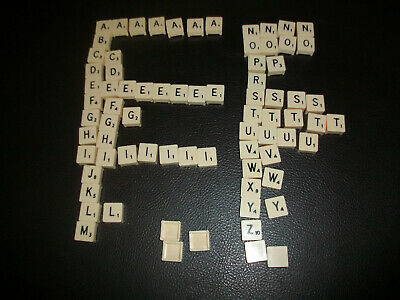 SPARE letter tiles for vintage Spears SCRABBLE Select from menu below: