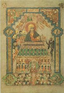 Postkarte-Book-of-Kells-Bibel-Versuchung-Jesu-Lukasevangelium-Irland-neu