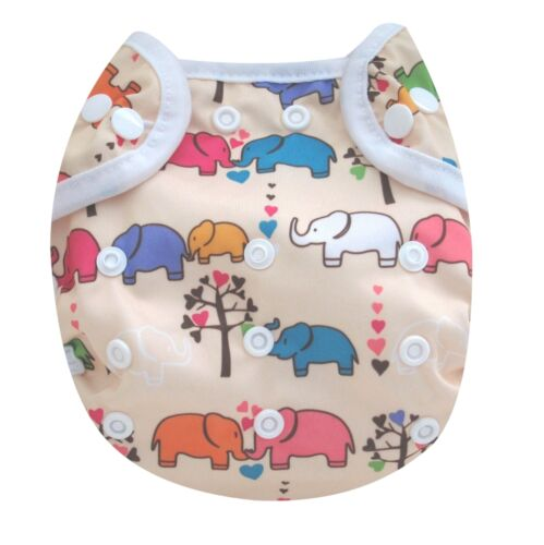 KAWAII BABY ONE SIZE HAPPY LEAK-FREE CLOTH DIAPER COVER FOR PREFOLDS YOU CHOOSE