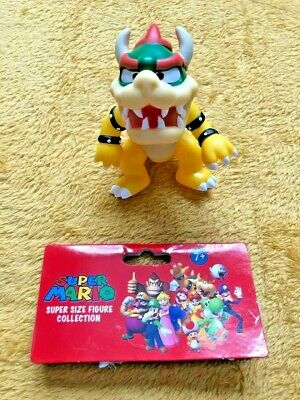 "Super Mario 5/"" Action Figure Bowser NEW /& SEALED"