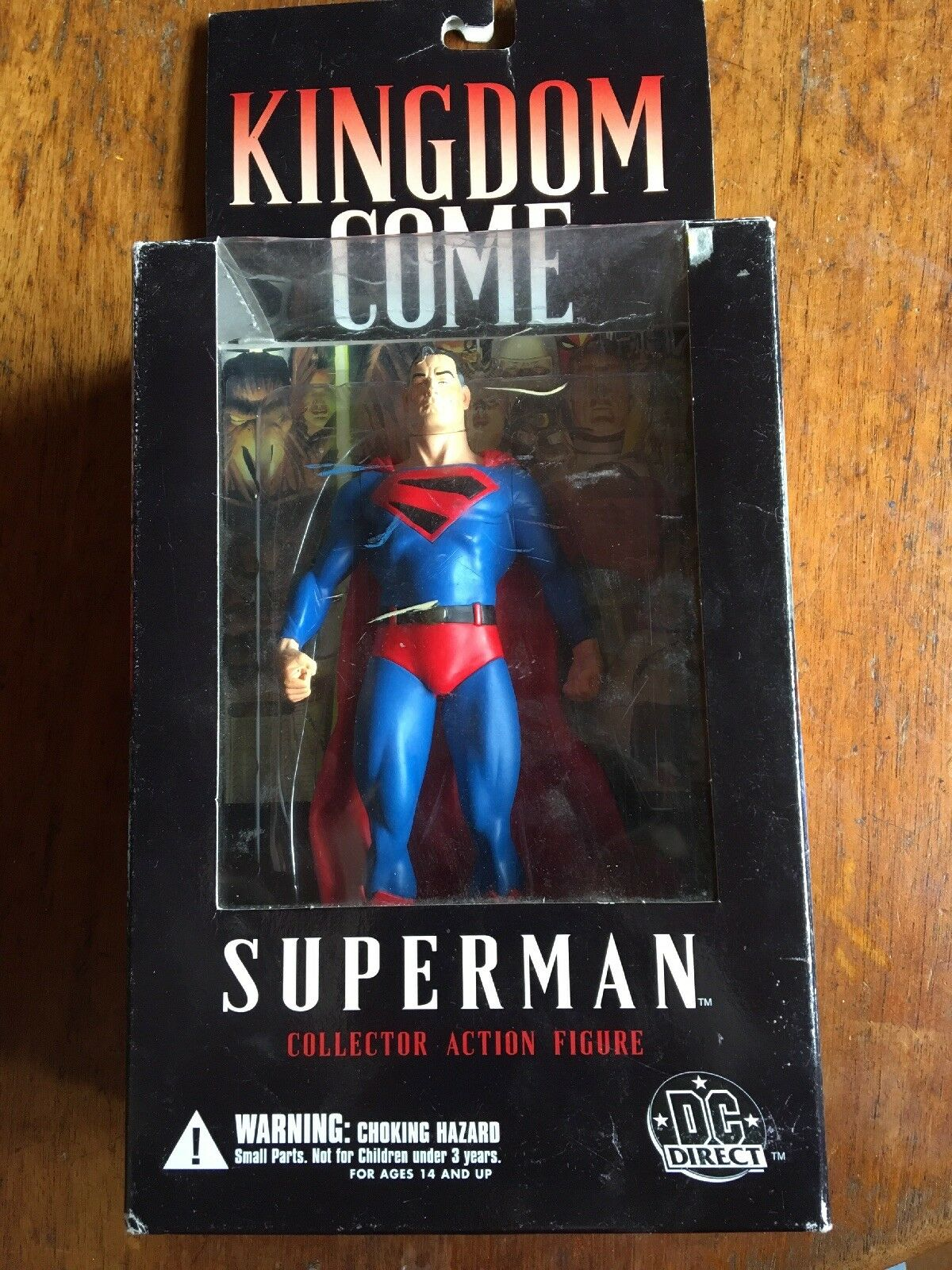 DC Direct Alex Ross Kingdom Come SUPERMAN Collector Action Figure Wave 1 - NEW
