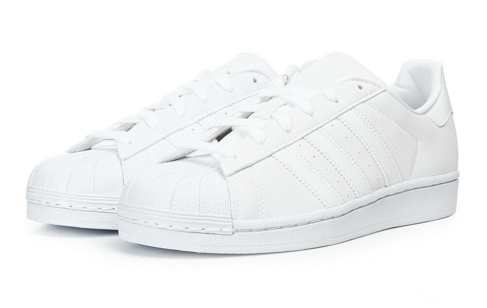 Adidas Originals Women's Superstar W (BY9175) Athletic Sneakers White Shoes