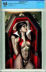 Vampirella #13 Comics Elite Josh Burns Virgin Exclusive - CBCS 9.8!