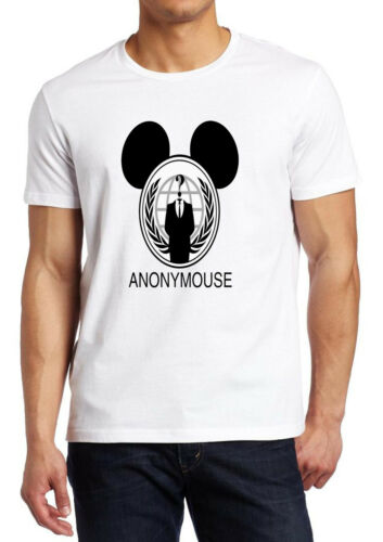 Mickey Mouse Anonymous Funny shirt Custom T-shirt