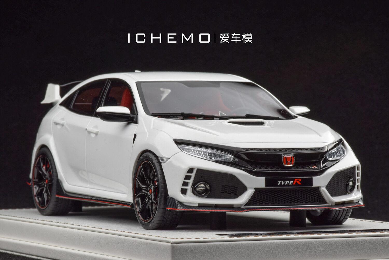 consegna rapida 1 18 MOTORHELIX Honda Honda Honda Civic Type R FK8 Prossootype LHD Gloss bianca 2017  forniamo il meglio