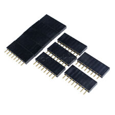 """0.118/"""" PCB DIL Header Socket 8 Way Legs Splayed to 6mm EB25 10 pieces"""
