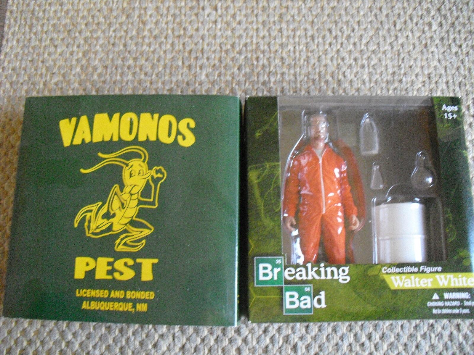BREAKING BAD - Walter White collectible figure NEW by Vamonos Pest Mezcotoyz