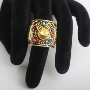 2018-THANOS-Infinity-Gauntlet-POWER-RING-Avengers-Bagues-Infinity-War-Stone-8-12
