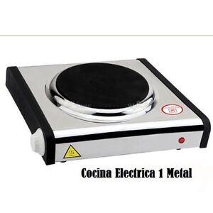 Cocina hornillo electrico placa el ctrica port til camping exterior acero 1 fueg ebay - Cocina electrica portatil ...