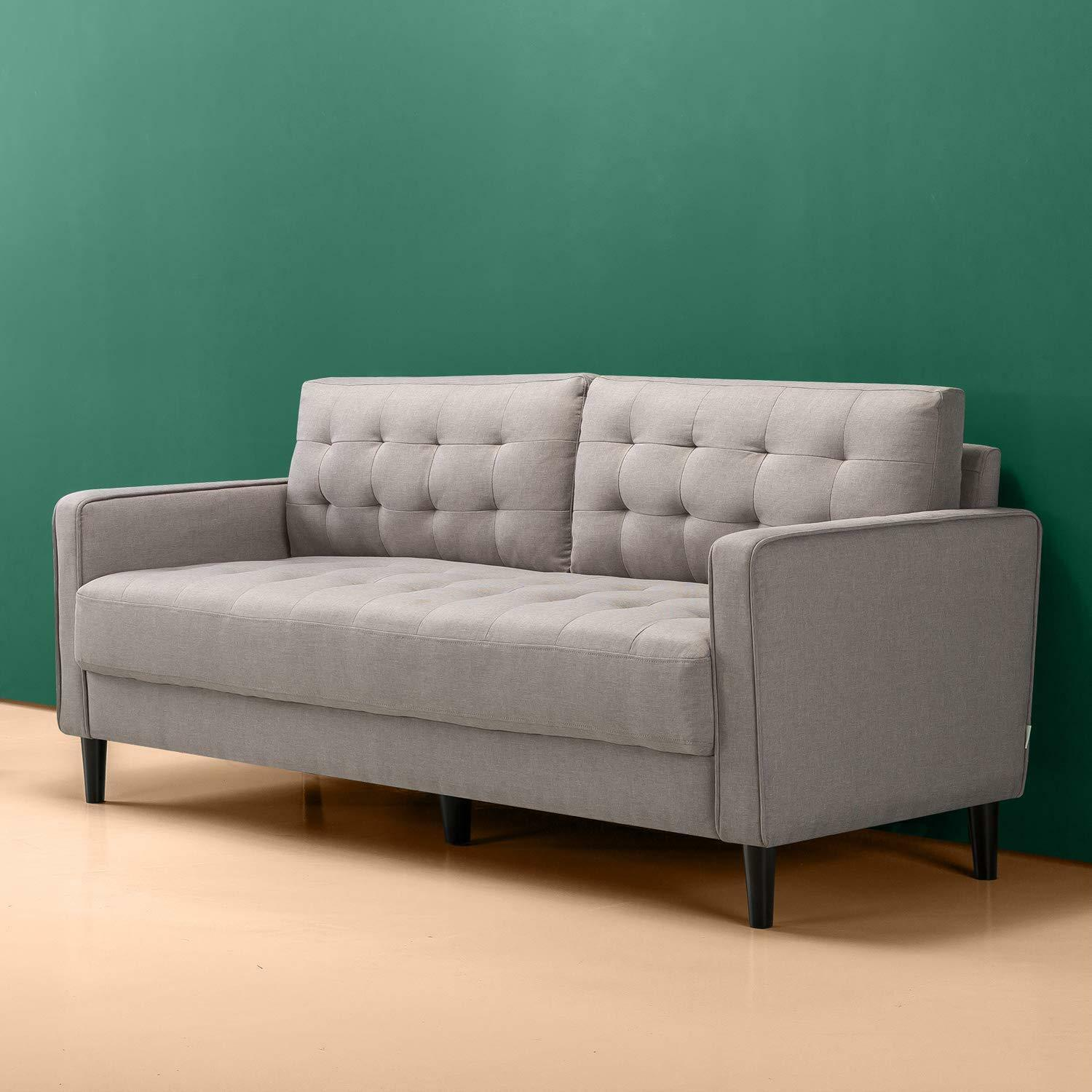Picture of: Modern Sofa Couch Love Seat Living Room Porch Bedroom Grey Gray Loveseat Chair For Sale Online