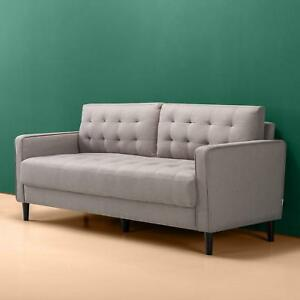Details About Modern Sofa Couch Love Seat Living Room Porch Bedroom Grey Gray Loveseat Chair