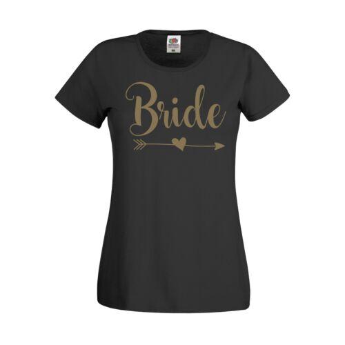BRIDE BRIDE TRIBE T-SHIRTS HEN PARTY HOLIDAY BRIDESMAID WEDDING PERSONALISED