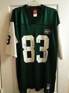 9bfa36d9758 Reebok Men NFL Football Jersey-New York Jets-#83 Moss-Green/White ...