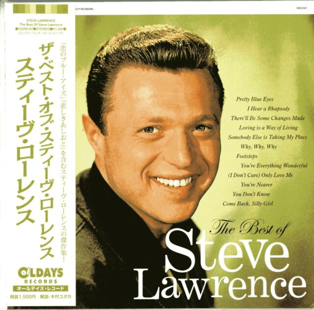 STEVE LAWRENCE-THE BEST OF STEVE LAWRENCE-JAPAN MINI LP CD BONUS TRACK C94