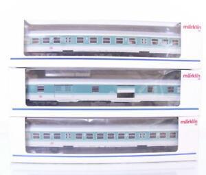 MARKLIN-4258-4259-42931-DB-CITY-BAHN-SUBURBAN-PASSENGER-COACH-SET-with-BIKES