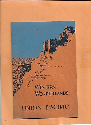 Western Pacific booklet Agreement with MofW Employees 1929
