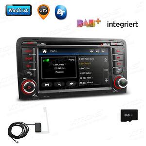 """7"""" autoradio mit dab+ dvd touchscreen gps navi bluetooth canbus für"""