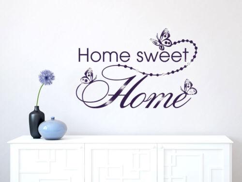 Murales pegatinas con swarovski para pasillo letras cheers Home Sweet Home contactarlo