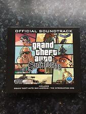 Grand Theft Auto San Andreas Soundtrack Double CD & DVD
