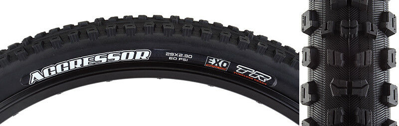 Maxxis Aggressor  DC EXO TR Tire Max Aggressor 29x2.3 Bk Fold 60 Dc exo tr  big savings