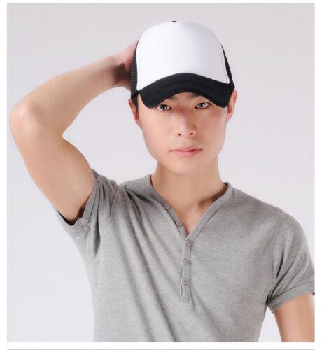 Herren Baseball Cap Basecap Tennis Trucker Hat Mütze Kappe Mesh Snapback Hut