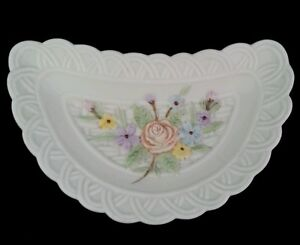 Antique Ivory Hand Painted By Lefton